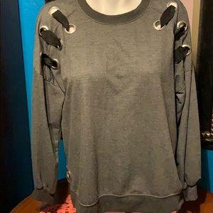 Isela Grey Sweatshirt